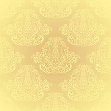 Free Seamless Beige Wallpaper. Royalty Free Stock Photo - 28842575