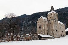 Free Castle Villa Ottone Stock Image - 28842981