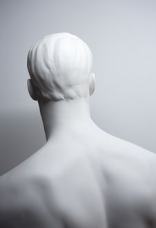 Free White Mannequin From Behind Stock Images - 28845454