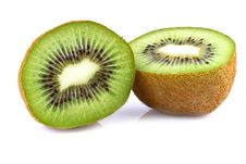 Free Kiwi Fruit  On White Stock Photo - 28847870