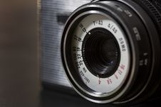 Free Vintage Camera Detail Stock Images - 28857294