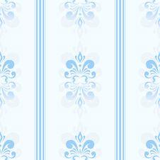 Free Blue Seamless Pattern Stock Photography - 28858632