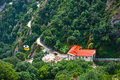 Free Cable Car To Monserrat Monastery Royalty Free Stock Images - 28863879