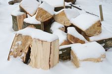 Free Firewood Royalty Free Stock Images - 28861399