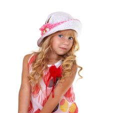 Free Beautiful Little Girl Royalty Free Stock Photo - 28864855