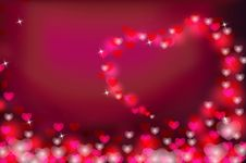 Free Valentine Background Royalty Free Stock Photo - 28867385