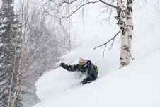 Free Freeride In Siberia Stock Image - 28868481