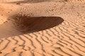 Free Sand Dunes On Sunset. Pattern Royalty Free Stock Image - 28871126