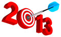 Free New Year 2013 Royalty Free Stock Photography - 28871437