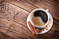 Free Cup Of Coffee With Brown Sugar. Royalty Free Stock Photography - 28874797