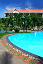 Free Tropical Resort With Swimming Pool Stock Images - 28875444