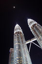 Free The Petronas Twin Towers Royalty Free Stock Photography - 28877047