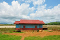 Free Tipical Laotian Country House Stock Images - 28877954