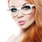 Free Beautiful Woman With Glasses Royalty Free Stock Photos - 28877358