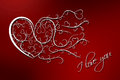 Free Valentines Day Background I Love You Royalty Free Stock Photos - 28886448