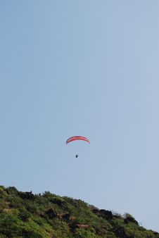 Free Paragliding Stock Photo - 28881640