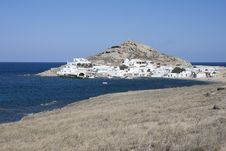 Free Agia Anna In Mykonos Island, Cyclades, Greece Royalty Free Stock Image - 28882356