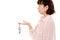 Free Asian Woman Holding Key Royalty Free Stock Image - 28886186