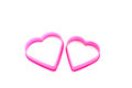 Free Two Pink Hearts Royalty Free Stock Images - 28894429