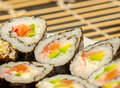 Free Set Of Japanese Sushi Royalty Free Stock Image - 28894556