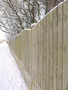 Free Fence And Snow Stock Photo - 28895810