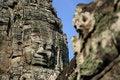 Free Bayon Face, Angkor Wat, Combodia Royalty Free Stock Photos - 28895968