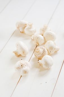 Free Fresh Champignon Mushrooms Royalty Free Stock Photos - 28890998
