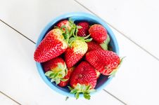 Free Red Strawberries Stock Image - 28891241