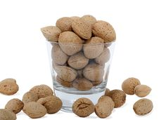 Free Cup With Almonds Stock Images - 28891984