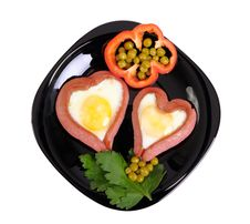 Free Festive Breakfast For Lovers Royalty Free Stock Photos - 28892898