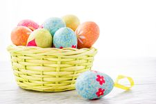 Free Colorful Easter Eggs Stock Photos - 28893403