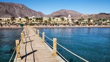 Free Resort Near The Red Sea Royalty Free Stock Photos - 28895838