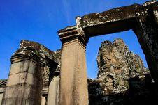 Free Bayon Face, Angkor Wat, Combodia Stock Photos - 28896043