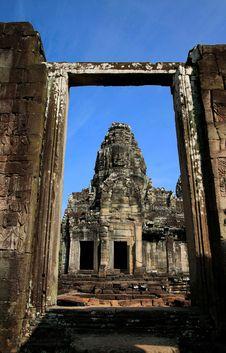 Free Bayon Face, Angkor Wat, Combodia Stock Photo - 28896160