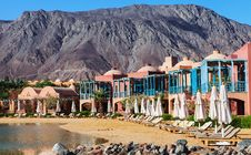 Free Resort Near The Red Sea Royalty Free Stock Photos - 28896288