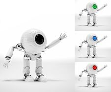 Free Robot Royalty Free Stock Photo - 28897845