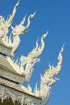 Free Thai Temple, Wat Rong Khun, Chiang Rai, Thailand Stock Images - 28897994
