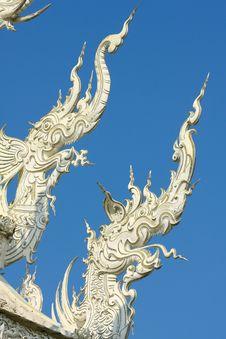 Free Thai Temple, Wat Rong Khun, Chiang Rai, Thailand Stock Photo - 28898050