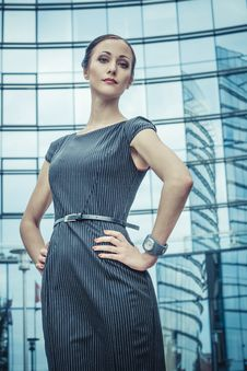 Free Business Lady Royalty Free Stock Photos - 28898068