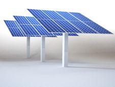 Free Solar Panel Royalty Free Stock Photo - 28898825