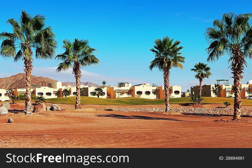 Resort near the Red Sea