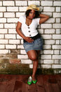 Free African American Girl Hot Pose Stock Photo - 2892860