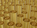 Free Stacks Of Gold Coins Stock Photos - 2892863