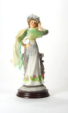 Free Figurine Of A Lady 1 Royalty Free Stock Images - 2890969
