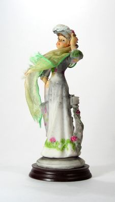 Free Figurine Of A Lady 2 Stock Images - 2890974
