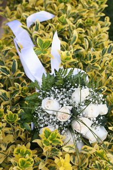 Free Wedding Bouquet Royalty Free Stock Photography - 2891257
