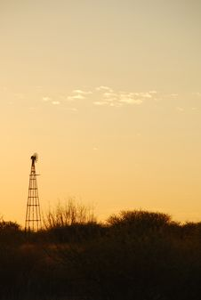 Free Kalahari Sunset Stock Photo - 2891570