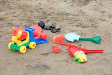 Free Beach Toys Stock Photography - 2892662