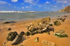 Free Orange Sand Royalty Free Stock Image - 2892926
