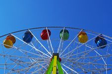 Free Segment Of Ferris Wheel Royalty Free Stock Image - 2893136